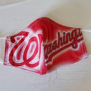 Washington nationals baseball face mask